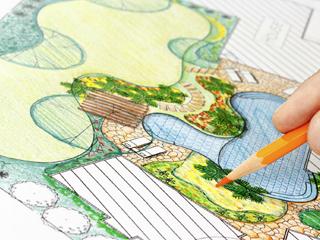 Clevere Gartenplanung